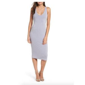 NWOT Leith Sleek Knit Midi Dress